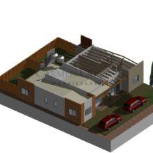 Nuevo proyecto de construcción de casas «en pozo» a la venta